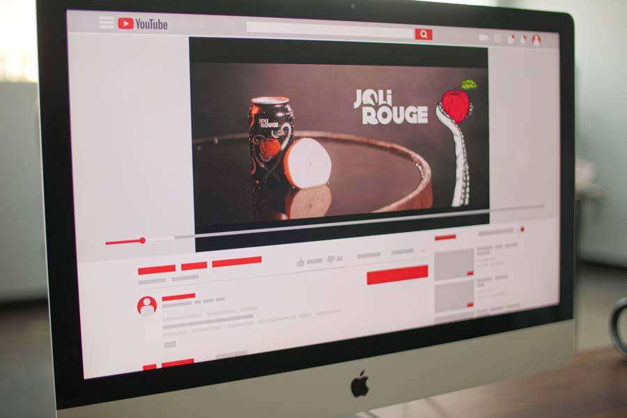 YouTube cidre joli rouge
